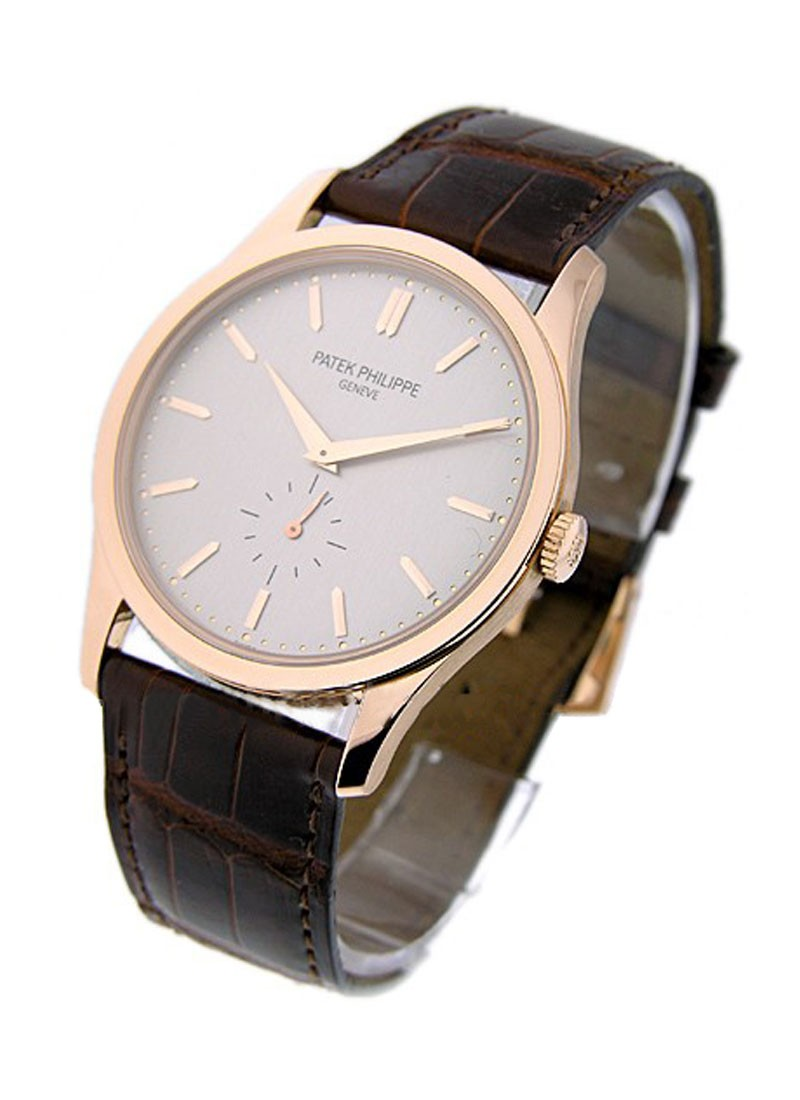 Patek Philippe Calatrava 5196R in Rose Gold