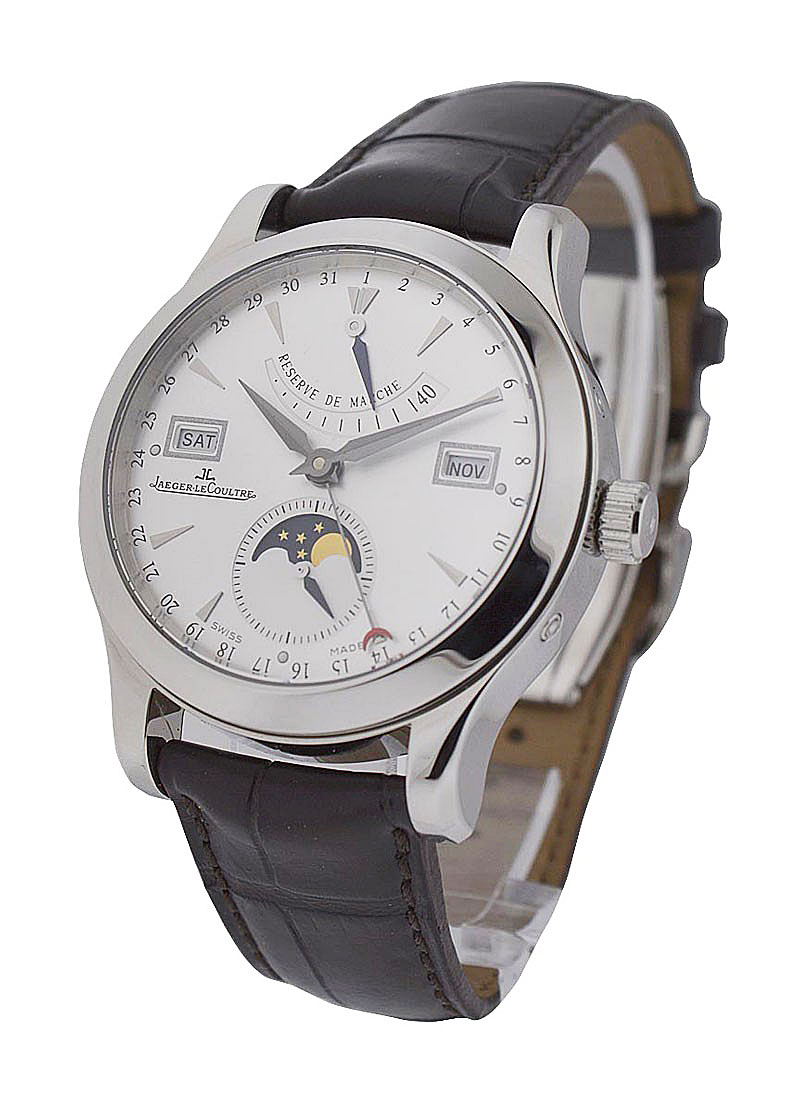 Jaeger - LeCoultre Master Calendar Control Master in Steel