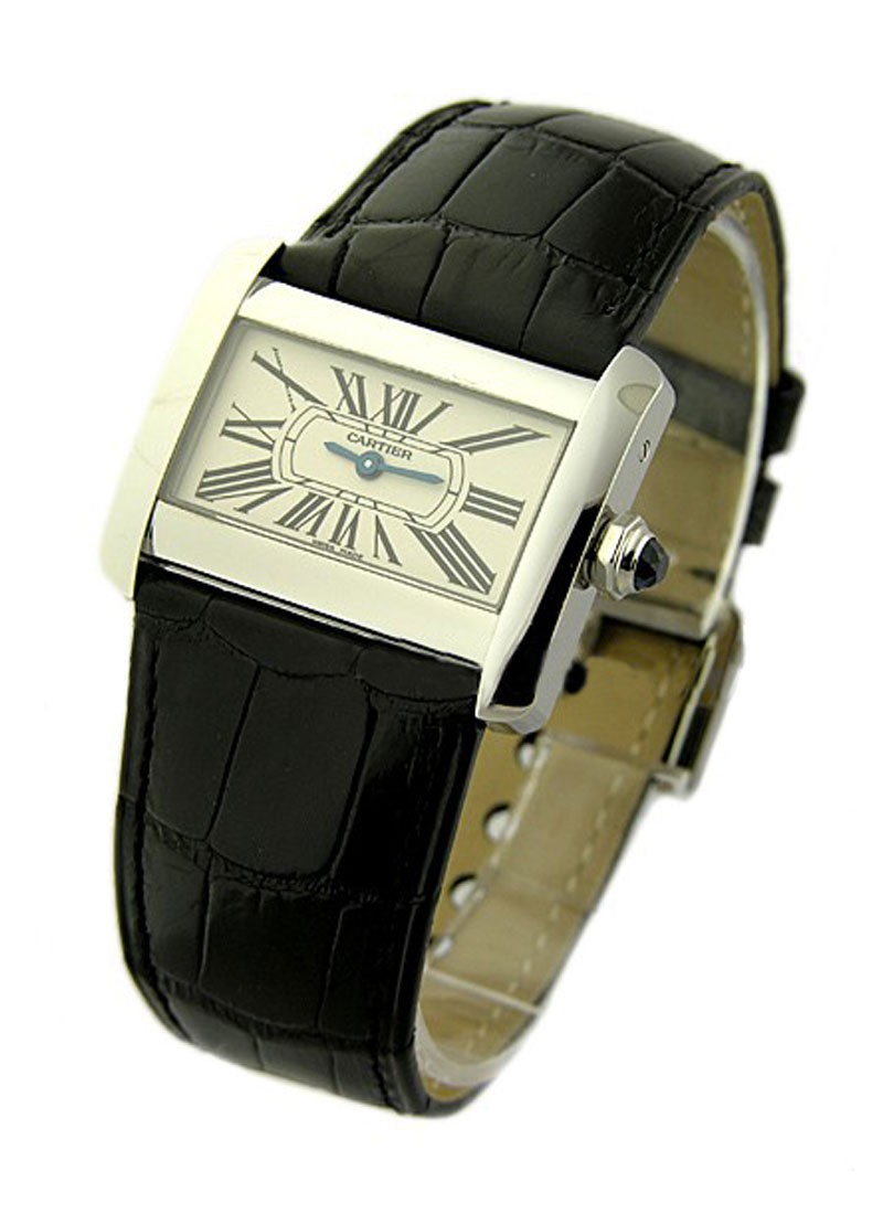 Cartier Tank Divan Quartz in Steel