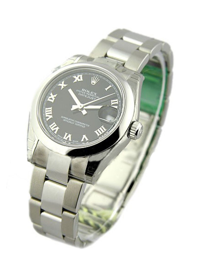 Rolex Unworn Datejust 31mm in Steel with Domed Bezel