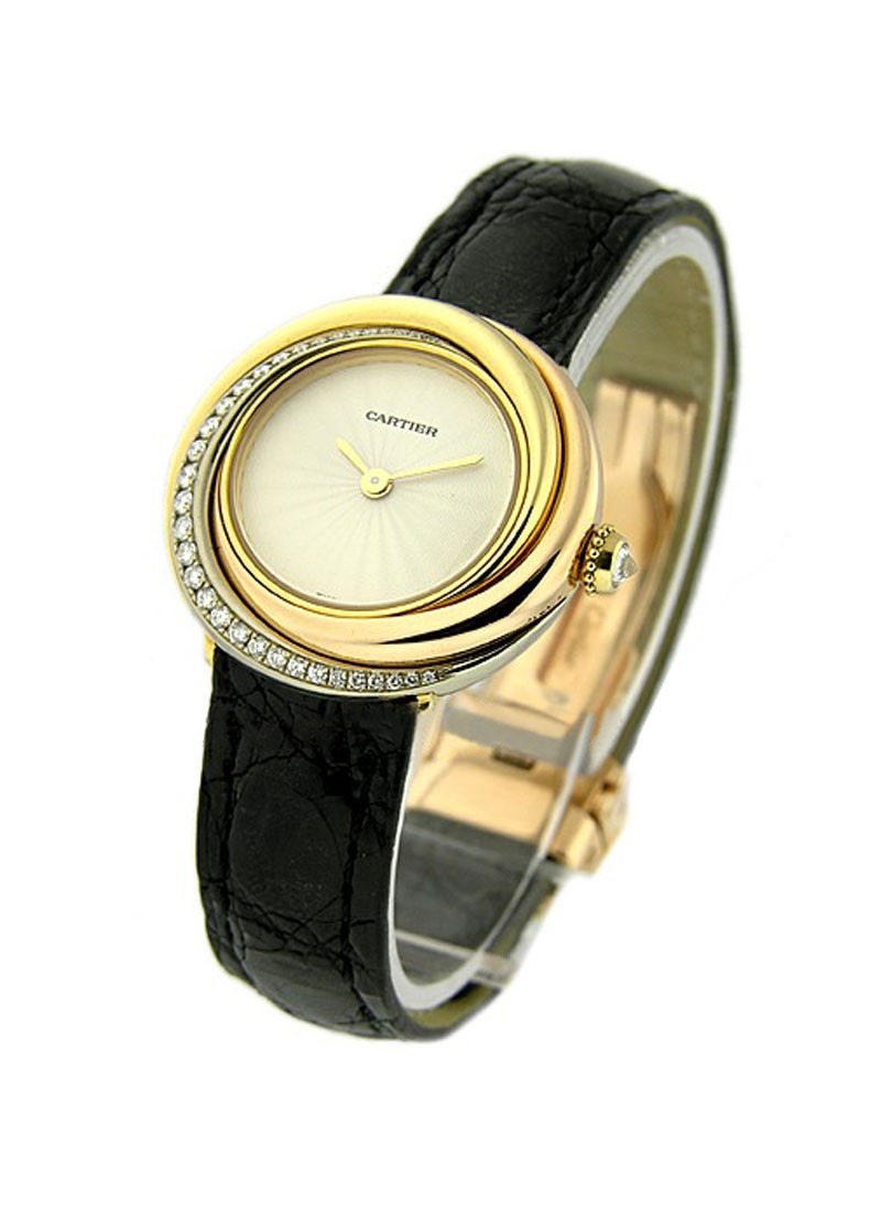 Cartier Trinity Lady''s Tri Color Watch