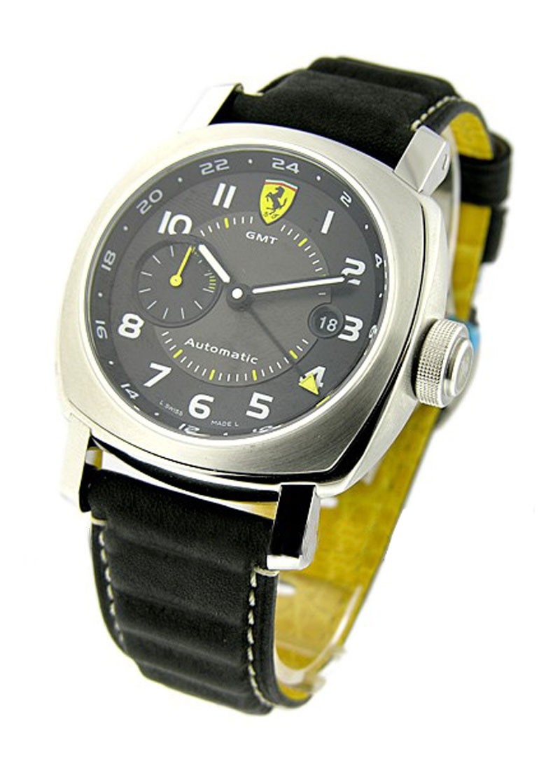 Panerai FER 009   Ferrari GMT in Steel