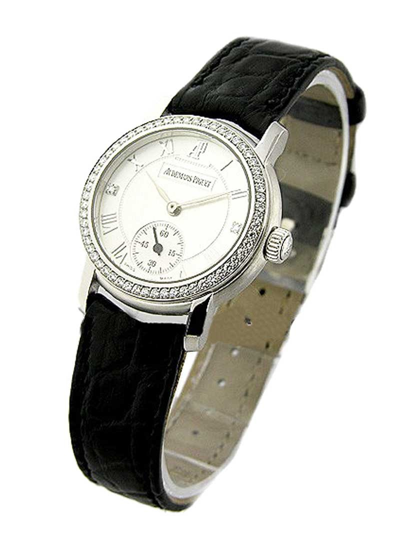 Audemars Piguet Lady's Jules Audemars in White Gold with Diamond Bezel