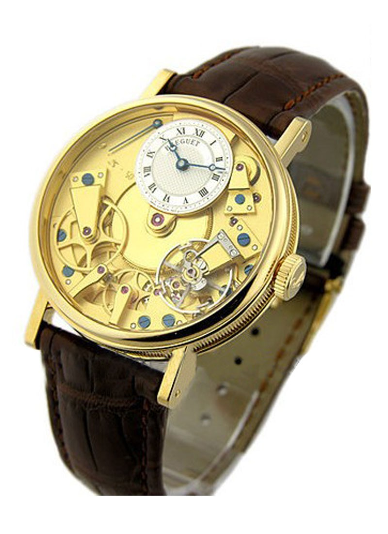 Breguet La Tradition 37mm in Yellow Gold