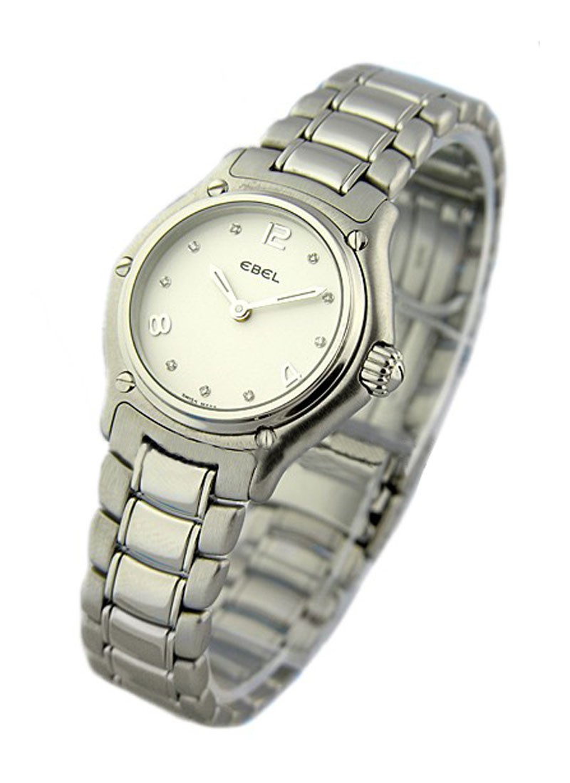 Ebel 1911 Ladies Mini Size in Steel