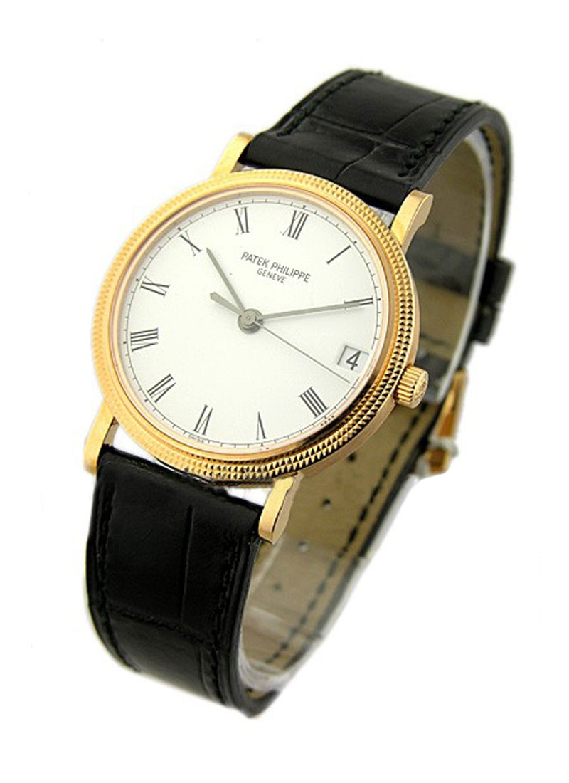 Patek Philippe Ref 3802 Calatrava in Yellow Gold