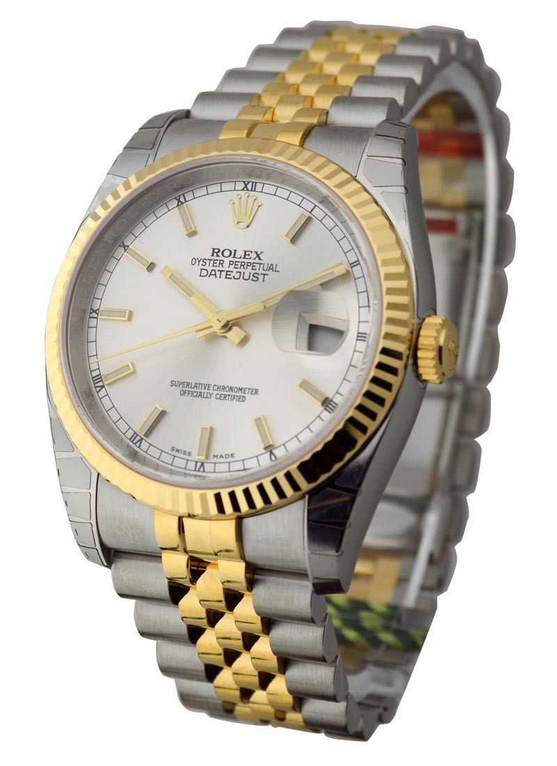 Rolex Unworn Men's 2-Tone Datejust 36mm