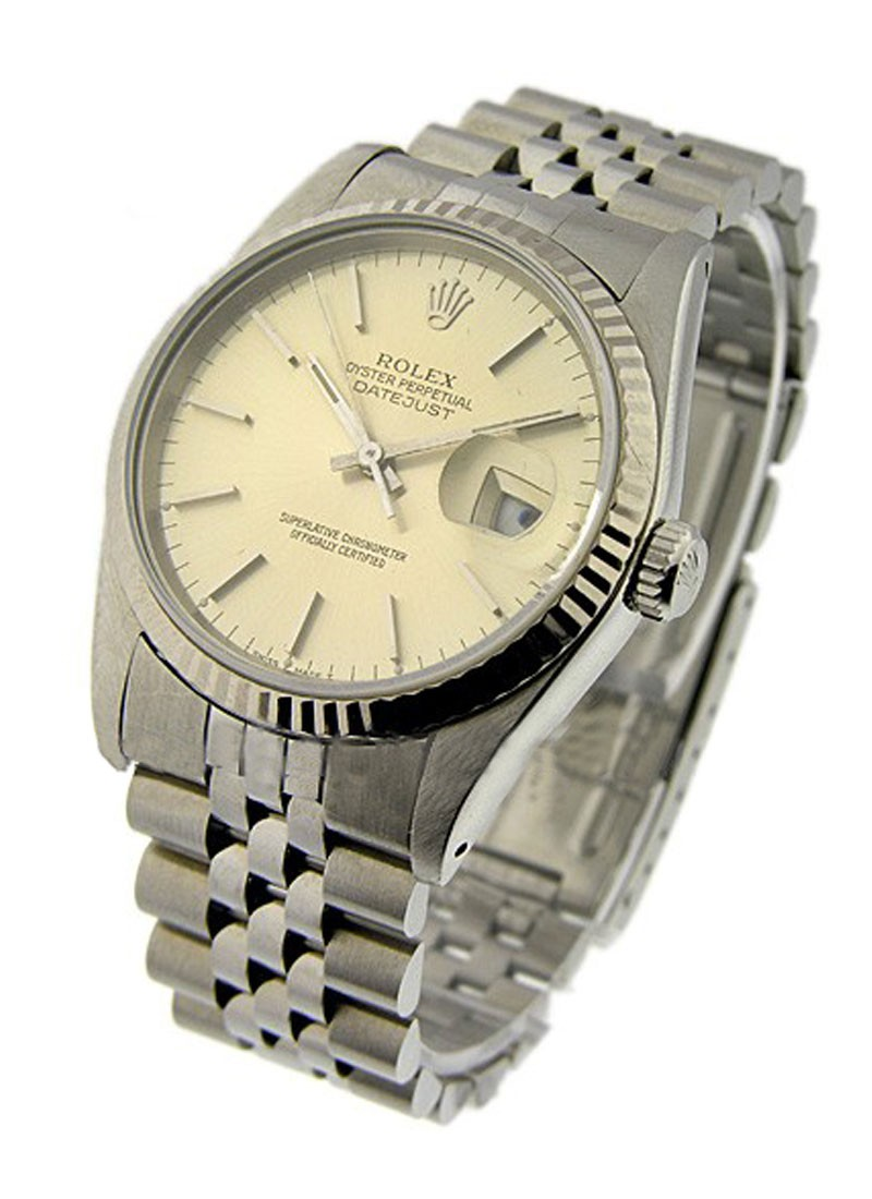 Rolex Used   Mens DATEJUST with Jubilee Bracelet 16220