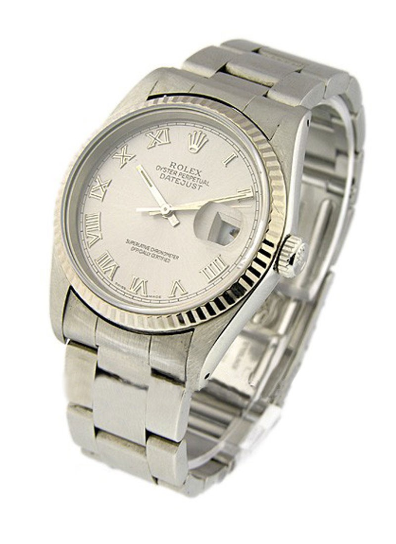 Rolex Used Mens DATEJUST with Oyster Bracelet