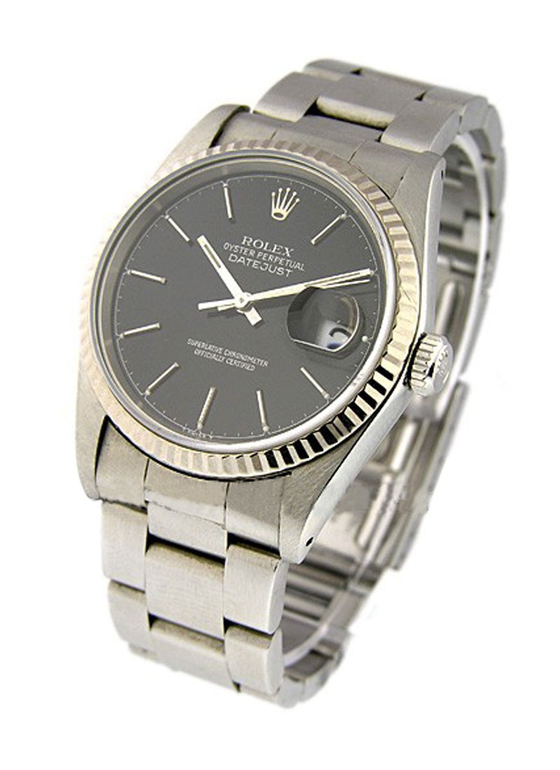 Rolex Used Men''s 36mm Datejust  with Oyster Bracelet
