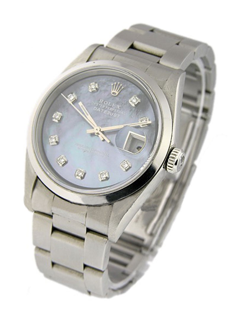 Rolex Used  Mens Steel DATEJUST with Oyster Bracelet