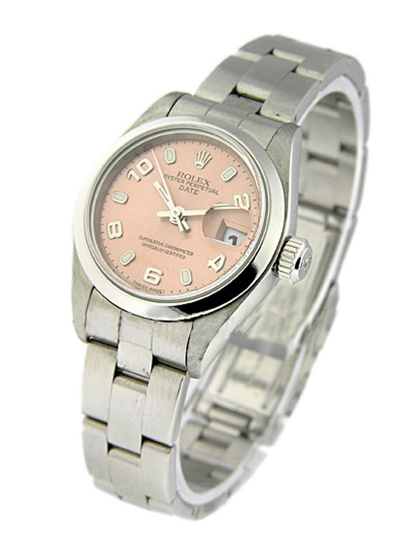 Rolex Used Lady's DATE with Oyster Bracelet 79160