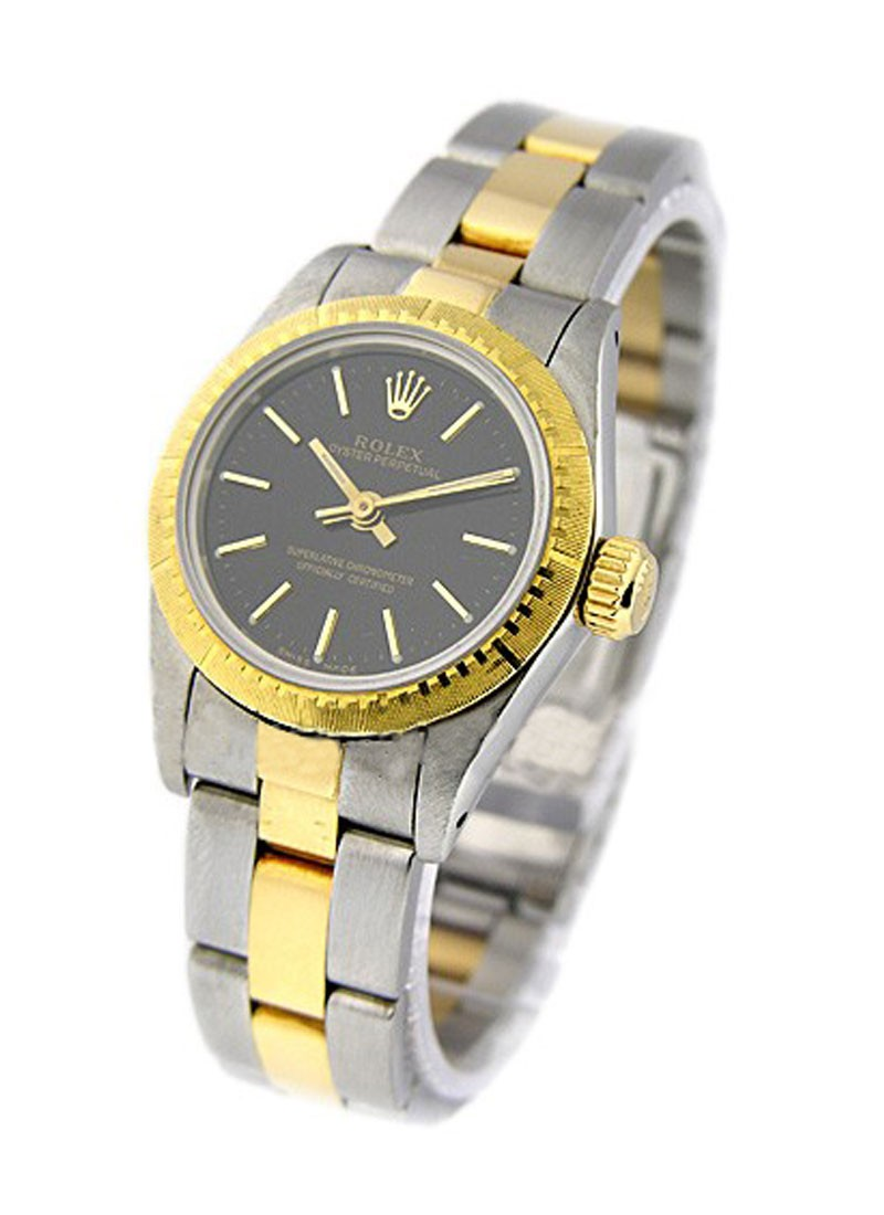Rolex Used  2 Tone Lady's  No Date with Oyster Bracelet
