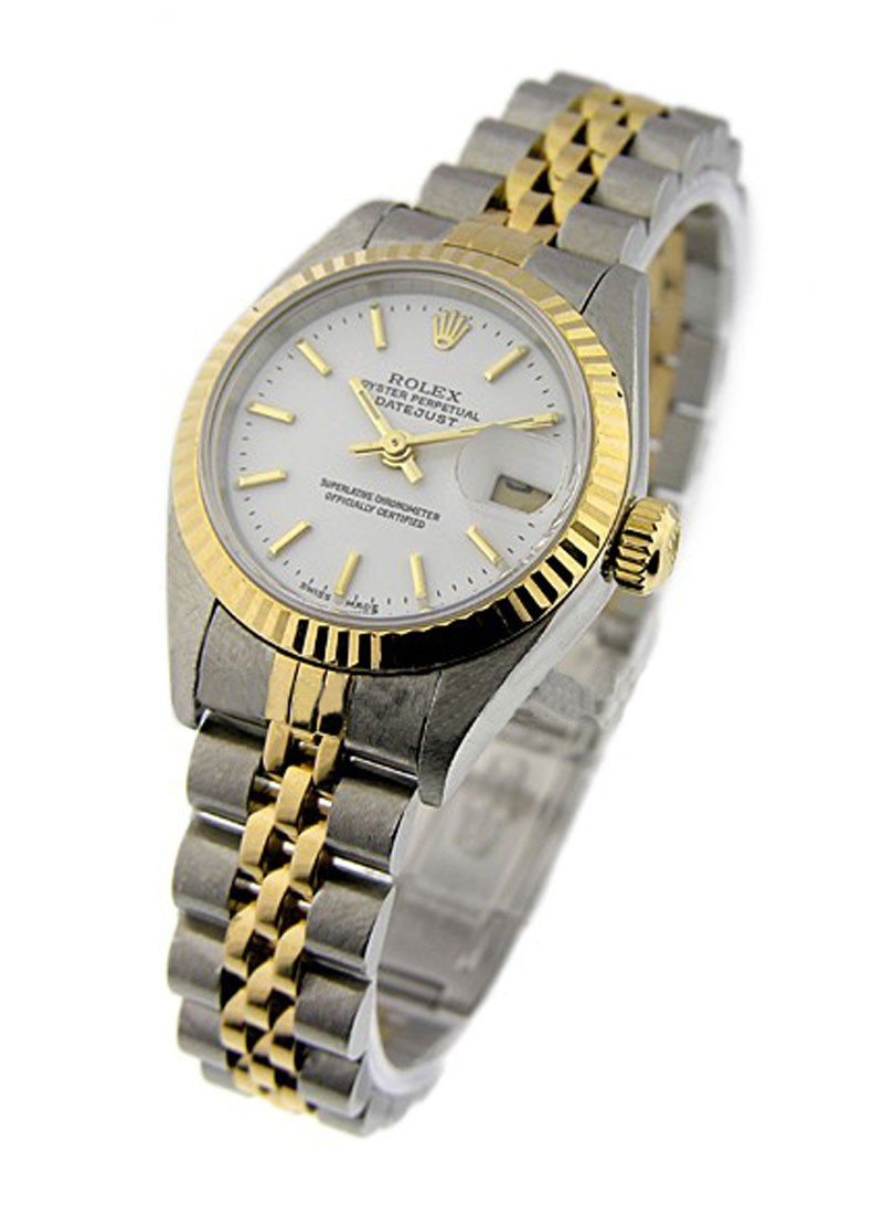 Rolex Used Lady's 2 Tone DATEJUST with Jubilee Bracelet 79173