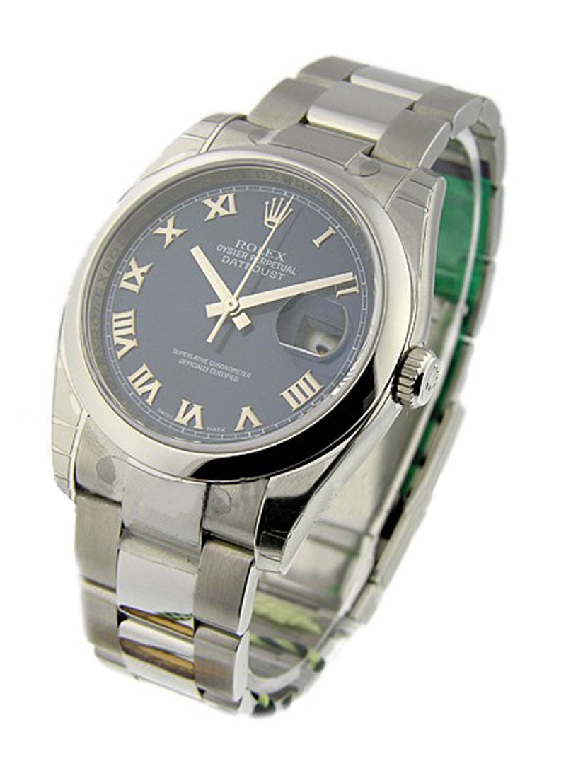 Rolex Unworn Datejust 36mm in Steel with Smooth Bezel