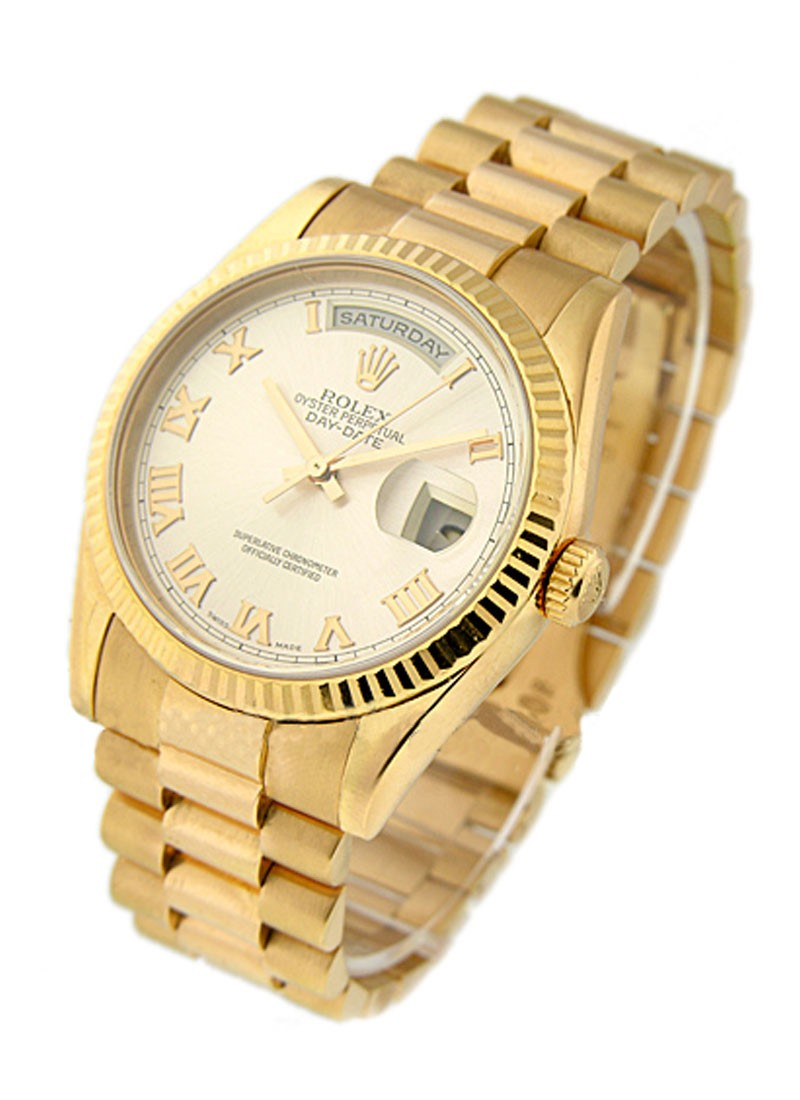 Rolex Used Mens Rose Gold Day Date President