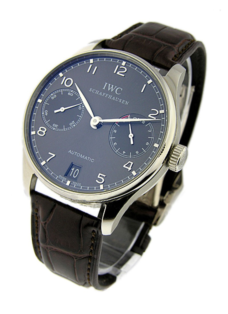 IWC Portuguese 7 Day Automatic in White Gold