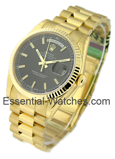 Rolex Unworn Men's Yellow Gold PRESIDENT   118238
