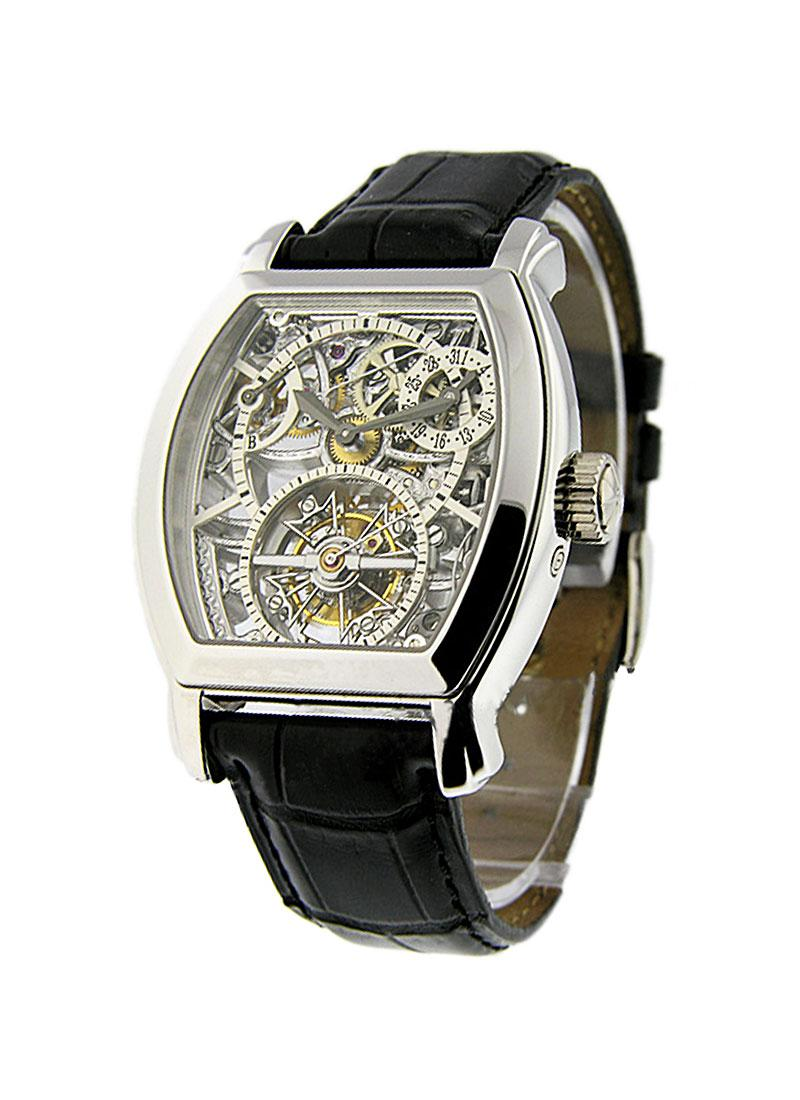 Vacheron Constantin Malte Skeleton Tourbillon in Platinum
