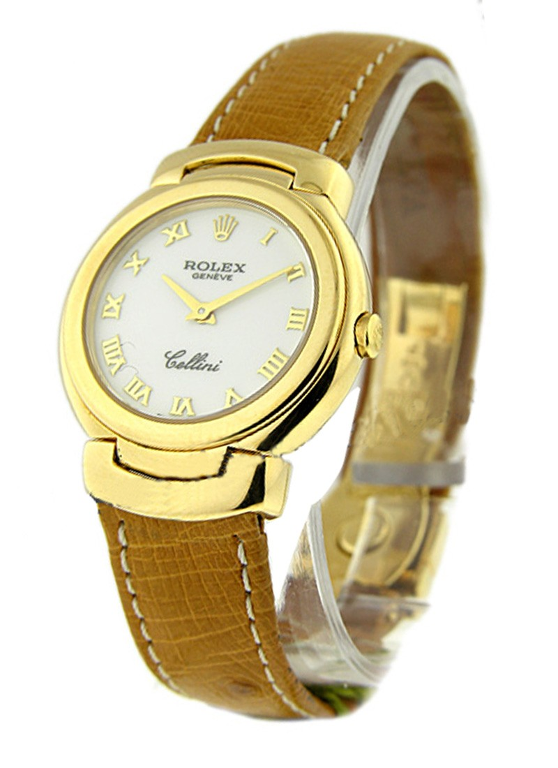 Rolex Unworn Cellini Lady's Quartz 6621/8