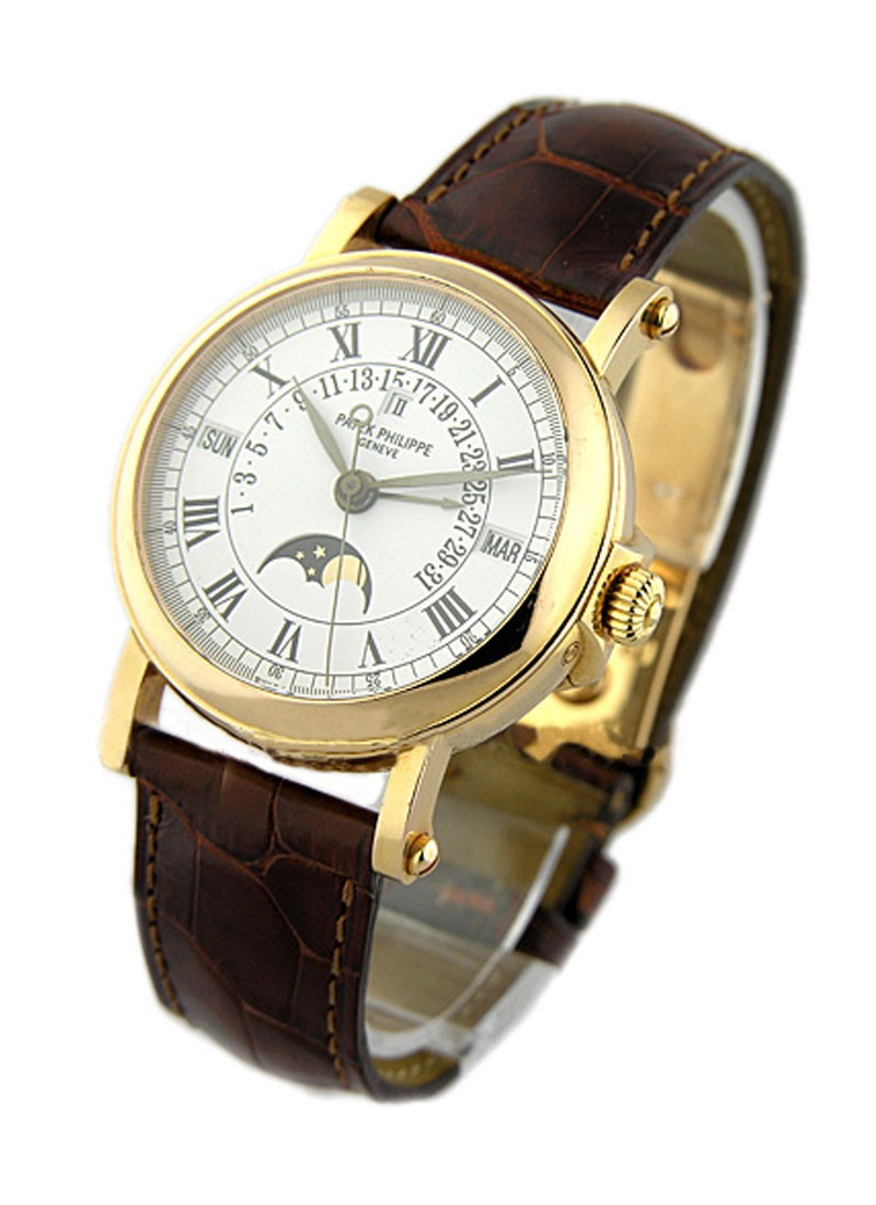 Patek Philippe Retrograde Perpetual Calendar 5059R with Hunting Back in Rose Gold
