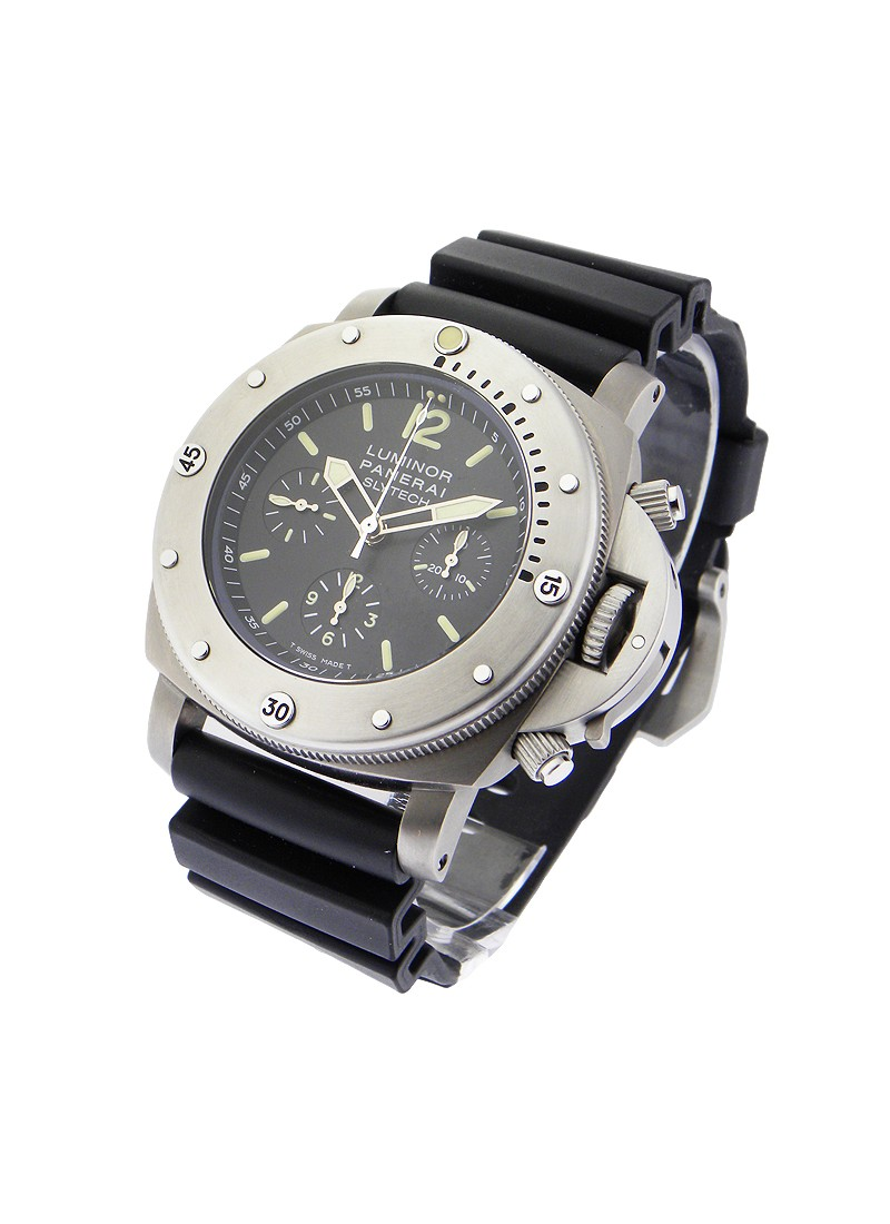 Panerai PAM 202   Slytech Special Edition 1000m Chrono in Titanium
