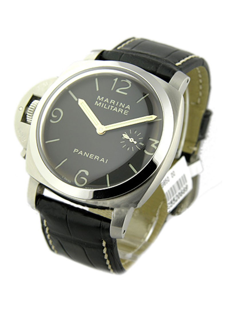 Panerai 1950 Destro PAM 217 Left Handed in Steel   Only 1000pcs Produced