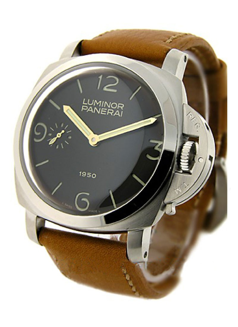 Panerai PAM 127   Luminor 1950 in Steel   Special Edition of 1950pcs