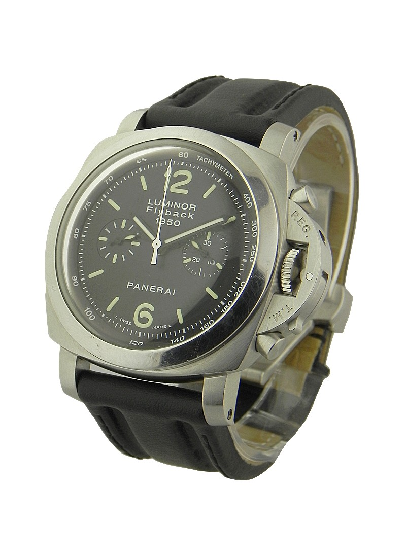 Panerai PAM 212 - 1950 Flyback Chronograph in Stainless Steel
