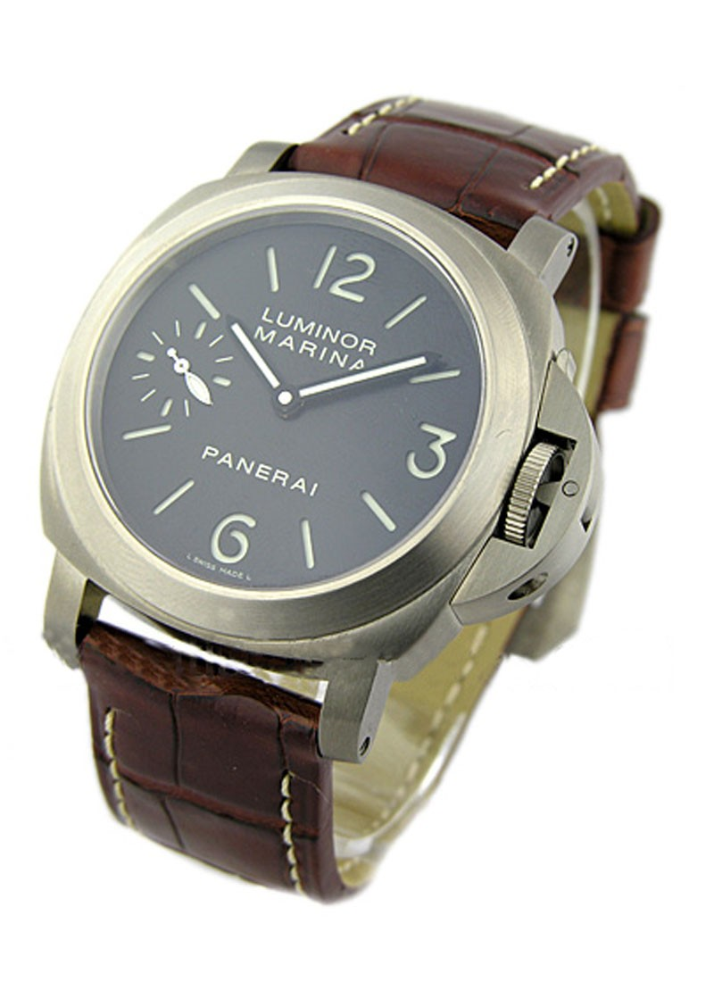 Panerai PAM 177   Luminor Marina in Titanium