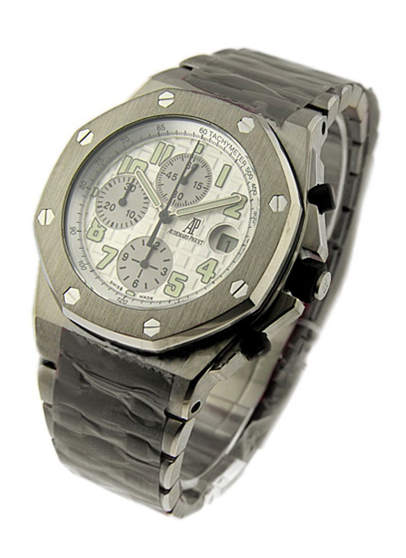 Audemars Piguet Royal Oak Offshore Chronograph in Titanium