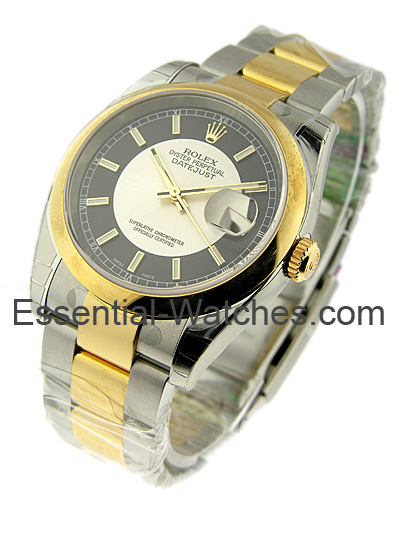 Rolex Unworn Men's 2 Tone Datejust with Oyster Bracelet
