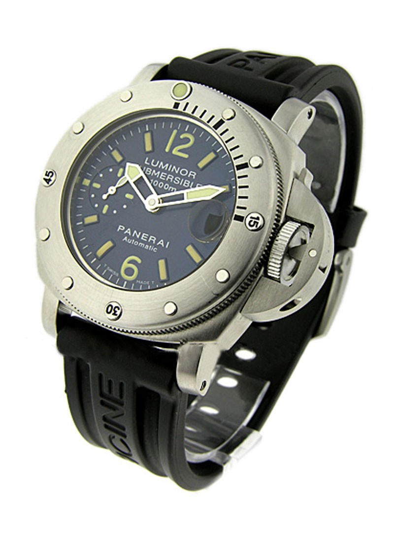 Panerai PAM 87 - Luminor Submersible 1000m in Steel