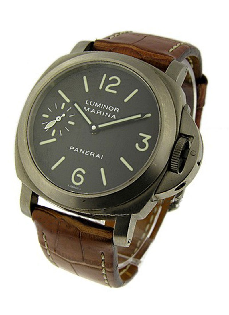 Panerai PAM 61   Luminor Marina in Titanium