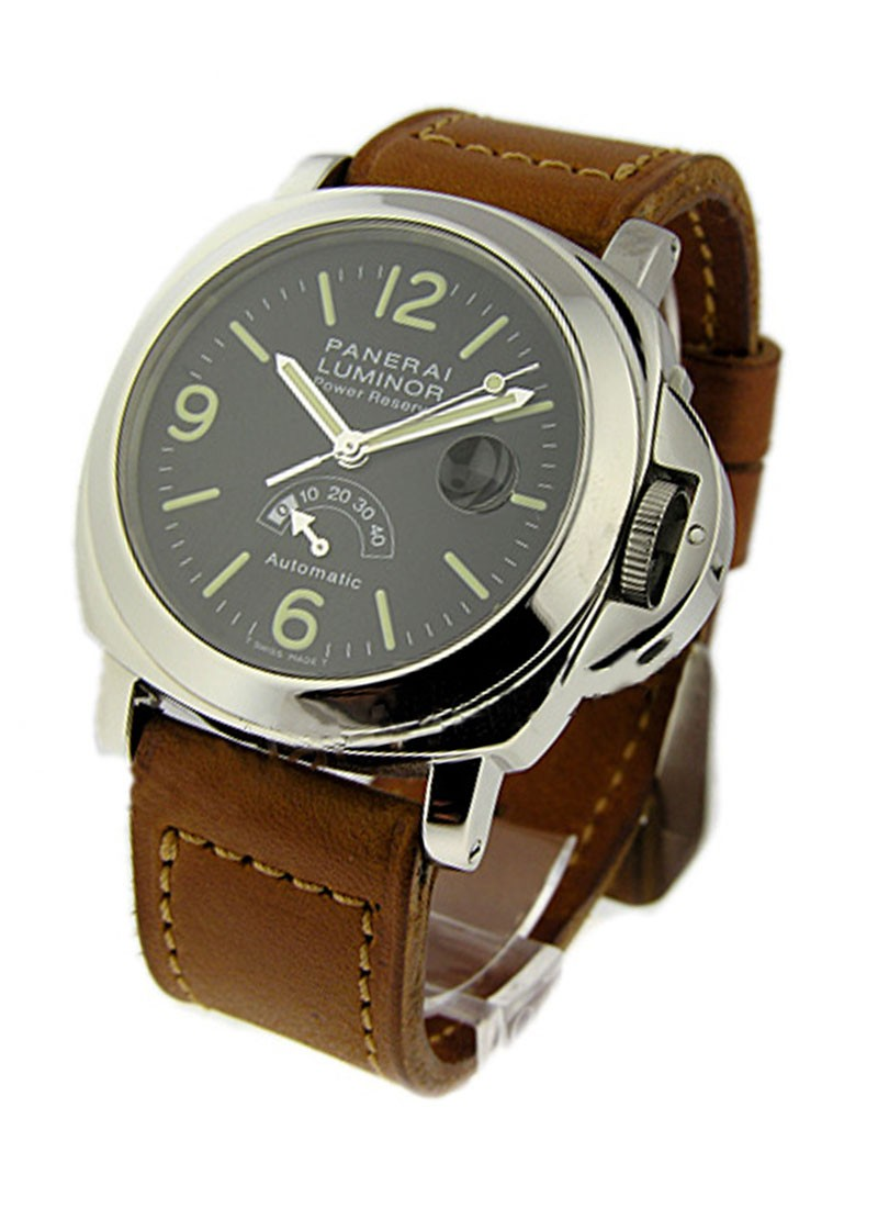 Panerai PAM 27 - Luminor Power Reserve in Steel
