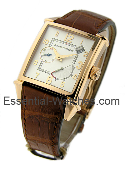 Girard Perregaux Vintage 45 with Power Reserve Display