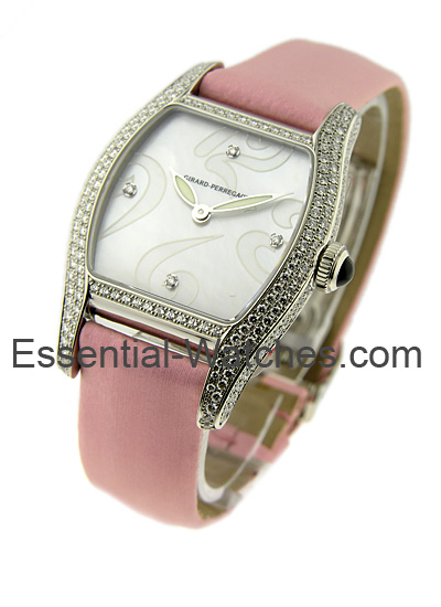 Girard Perregaux Lady's Steel Richeville with Diamond Case