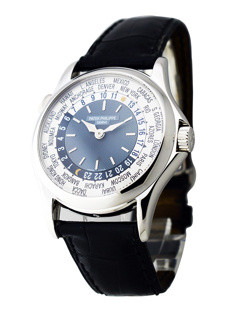 Patek Philippe World Time 5110P in Platinum