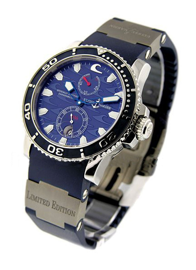 Ulysse Nardin Blue Surf Maxi Marine Diver Chronometer in Steel