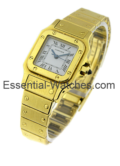 Cartier Santos Square - Small Size 25mm