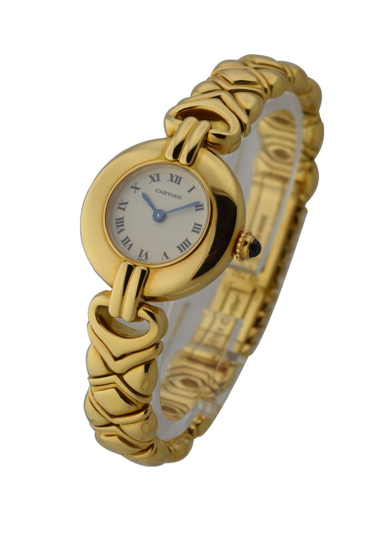 Cartier Colisee Ladies in Yellow Gold