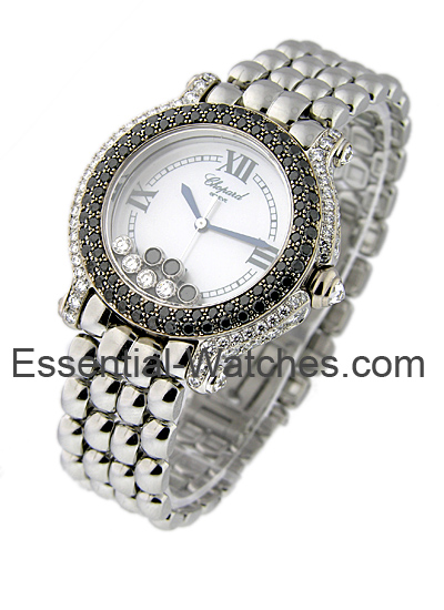 Chopard Happy Sport Round with Black Diamond Bezel