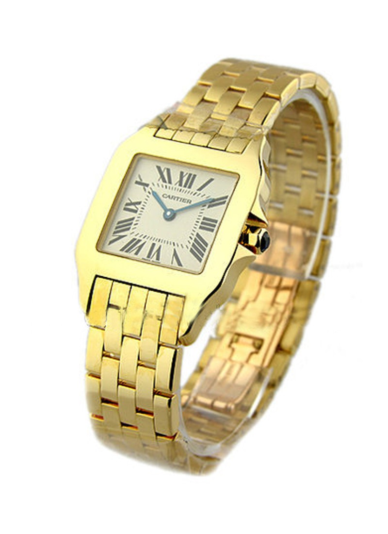 Cartier Santos Demoiselle in Yellow Gold - Large Size