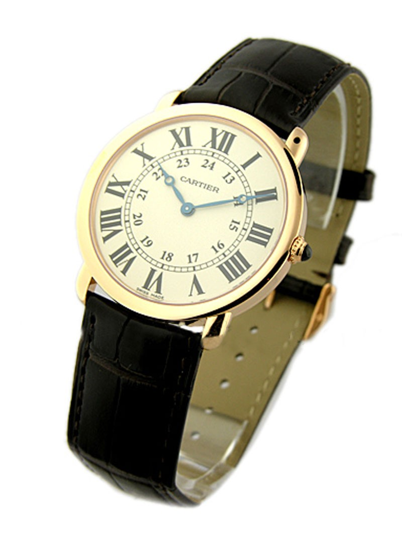 Cartier Ronde Louis Cartier - Large Size  in Rose Gold