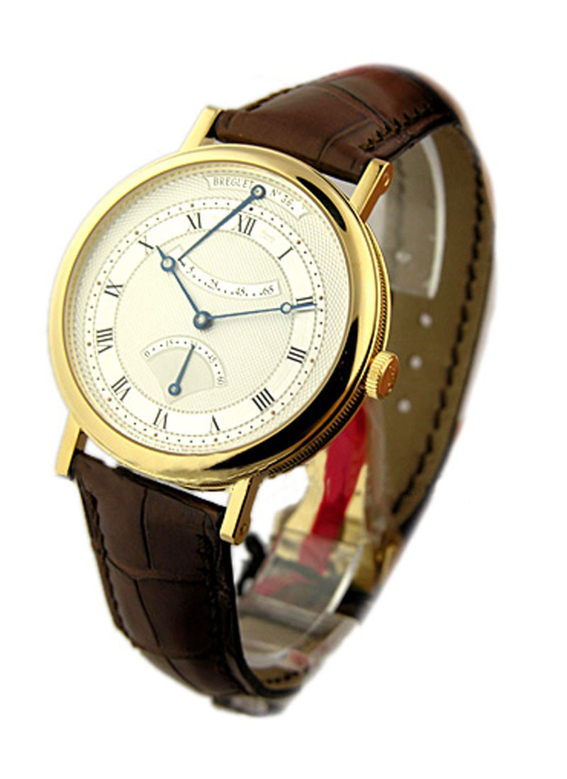 Breguet Classique Retrograde Seconds in Yellow Gold