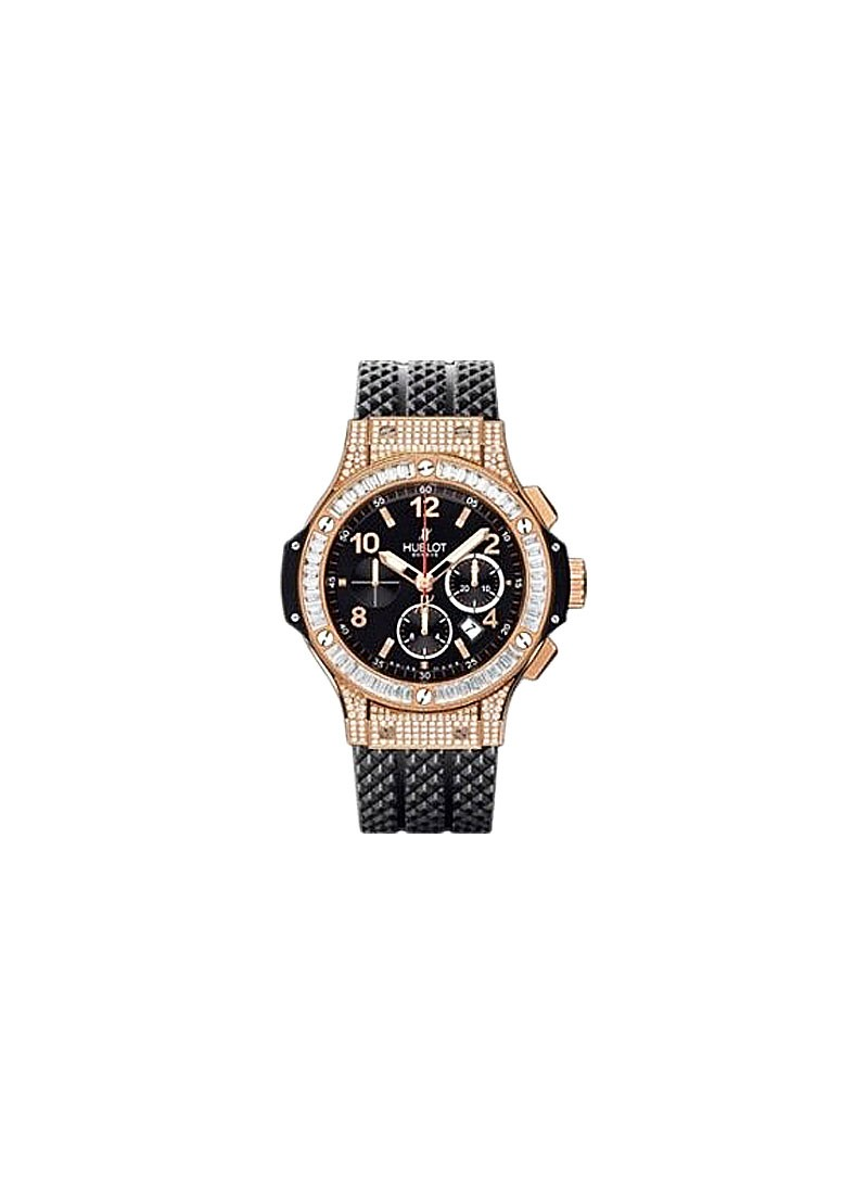 Hublot Big Bang - 44mm- Baguette Diamond Bezel