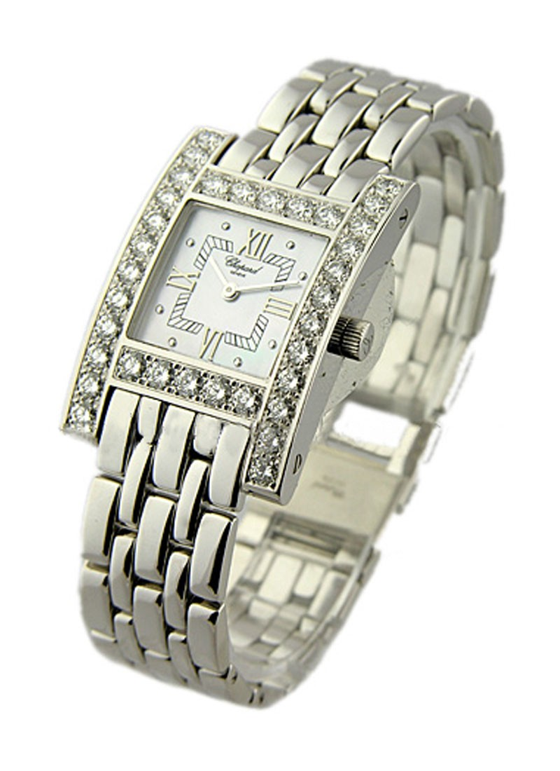 Chopard Your Hour in White Gold with Diamond Bezel