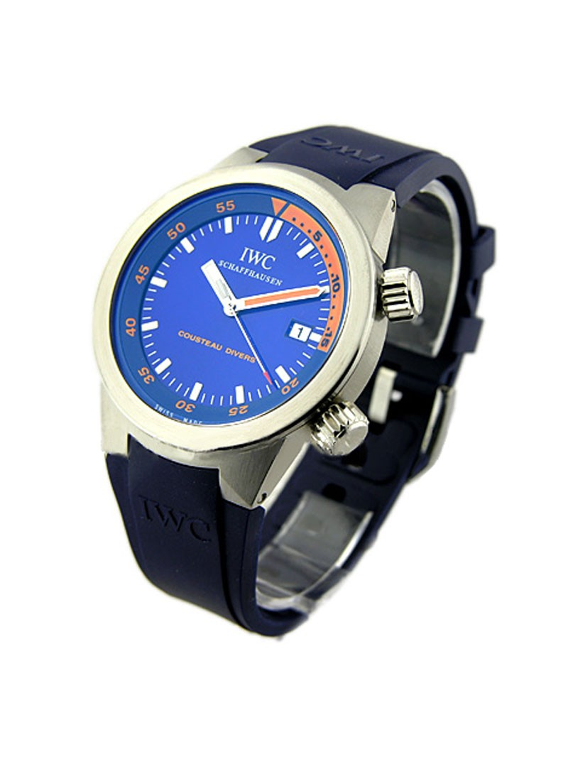 IWC Aquatimer Cousteau   Limited Edition in Steel