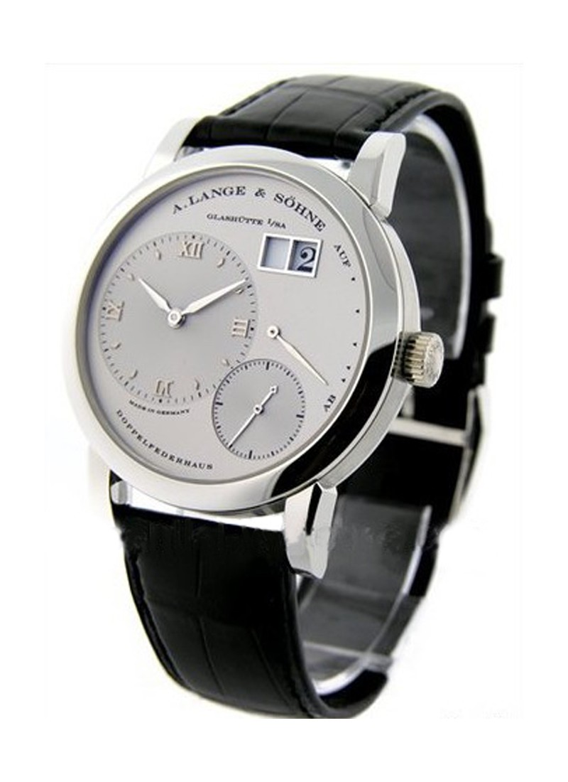 A. Lange & Sohne Lange 1 Mens Mechanical in Platinum
