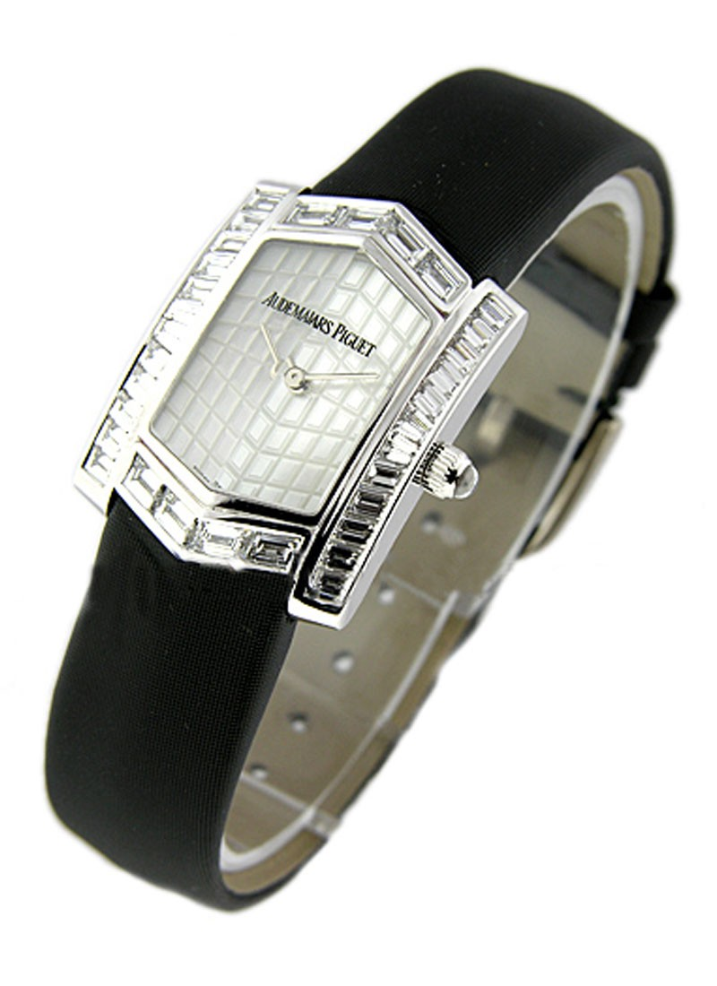 Audemars Piguet Facettes Lady's Collection in White Gold with Diamond Bezel